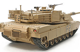 There's plenty of detail at every corner of the Tamiya Abrams.