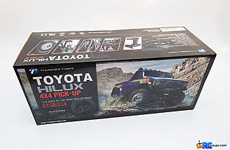 The box. This one is officially licensed by Toyota.