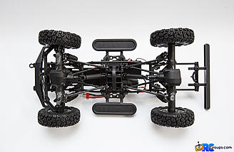The 4-link suspension is very plush and doesn't bind under any circumstances.