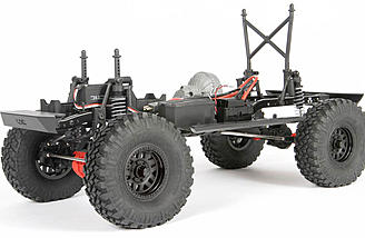 The Axial 2017 Jeep Wrangler Unlimited is built around the popular SCX10 II chassis.