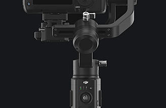 The DJI Ronin-S DSLR handheld gimbal system.