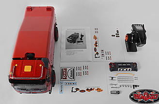 This RTR package includes everything except a suitable charger and battery.