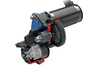 The E-Revo comes with a VXL-6S brushless powerplant and direct drive transmission.