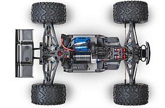 The E-Revo has cantilever suspension.