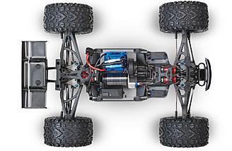The E-Revo has cantilever suspension.