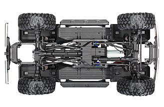 The TRX-4 chassis from Traxxas.