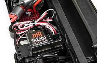 A 2.4GHz transmitter, receiver, and steering servo are included.