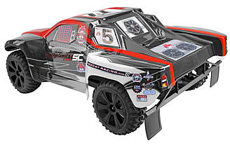 The Redcat Racing Blackout SC Pro 4WD Brushless SCT.