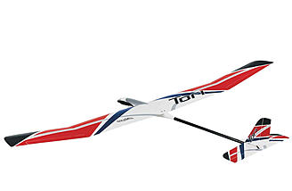 The Great Planes Tori 2M EP Glider Rx-R.