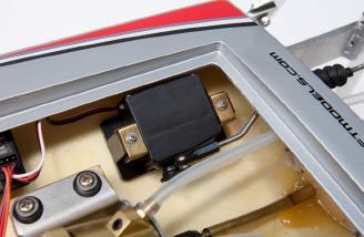 Tactic TSX300 standard-size steering servo.