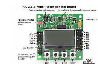 kk2 1 5 flight control board rc groups rh rcgroups com