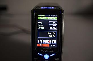 "Battery warmer function - note the misspelling ""wamer"""