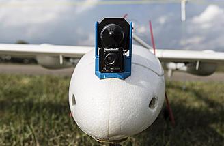The RMRC Anaconda equipped with a FLIR night vision camera