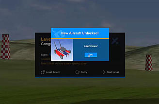 Completing challenges can unlock new aircraft and fields