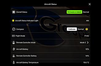 Aircraft status page