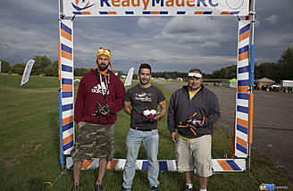"251 and over winners from 1st to 3rd: Victor ""Moriwaky"" Castello, Travis ""RoninFPV"" Miller, Derrick Miller"