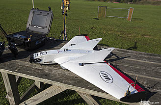 The Ritewing Zephyr Z3 Spade is our test aircraft for the antenna tracker tutorial