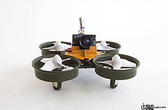 The BeeDuctrix a.k.a. Tink Whoop is ready to fly!