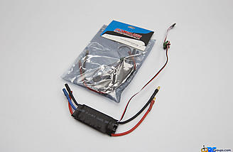 A pair of 40A escs round out the included electronics