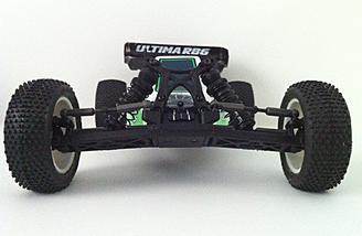The Ultima RB6 has a low center of gravity