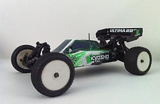 The Kyosho Ultima RB6 Readyset