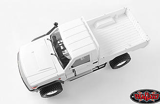 This 1/10th scale 4wd off-road truck is quite capable and looks very realistic.