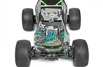 The body design is all new on the HPI Savage XS FLUX VGJR