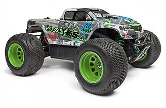 This 65 MPH mini truck is fast and looks great as well. HPI really created a unique looking Savage XS FLUX  with the Vaughn Gittin Jr. Signature Edition