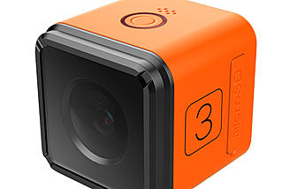 The all new RunCam 3 looks like the Gopro Session with a more affordable price tag.