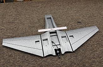 The EPP airframe of the Mini Drak