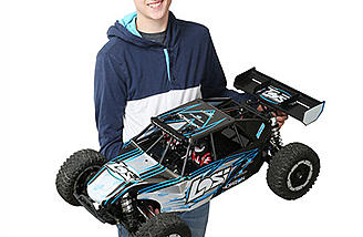 A new 1/5th scale electric monster from Losi is here: the Desert Buggy XL-E!