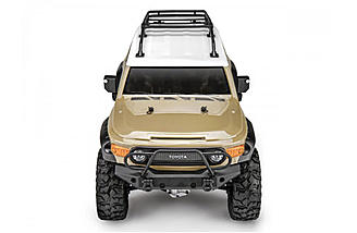 Officially licensed Toyota FJ Cruiser Sandstorm Beige body, also available in grey.
