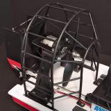 Injection-moulded plastic cage