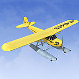 Piper J-3 Cub w/Floats
