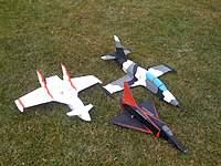 Name: IMG_6843.jpg Views: 442 Size: 128.3 KB Description: Prime8 funjet w/mods, LowPass L-39, My Mirage 2000 V1 (RIP)