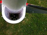 Name: IMG_1010.jpg Views: 121 Size: 302.3 KB Description: Duct is now super smooth without any obstructions...