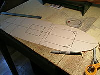 Name: 2.JPG Views: 28 Size: 553.4 KB Description: New deck template, cut into two pieces across the center where for and aft decks will be laid out.