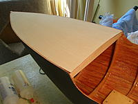 Name: P8140005.jpg Views: 198 Size: 194.4 KB Description: Sub-deck gued in tight, a coat of Z-poxy to seal before planks go down.