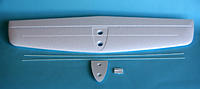 Name: TP 1.jpg Views: 594 Size: 77.3 KB Description: Tailplane + (2x) 1.3mm x 400mm CRP rods. Spreader plate and elevator horn.