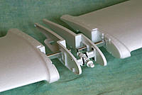 """Name: SP 14.jpg Views: 1095 Size: 182.4 KB Description: Better view of the offset spars. Note: The entire security of the wings relies upon; 1. The efficacy of the glue joint between the wing roots and end caps. 2 The plastic clips, """"O"""" ring and pin assembly."""