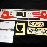 Instruction manual and decal set