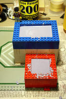 Name: Lego Mold 4.jpg Views: 230 Size: 46.6 KB Description: The molds poured and drying.