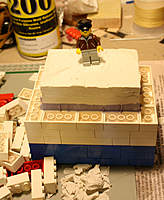 Name: Lego Mold 5.jpg Views: 156 Size: 43.7 KB Description: Here the bottom layer of bricks have been removed so the clay can be pulled off the bottom of the mold.