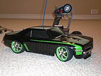 Monster Energy Camaro