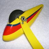 Completed landing gear half