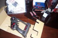 Name: Traxxas Revo Brushless 002.jpg Views: 67 Size: 82.7 KB Description: Radio, Paperwork, 2 batterys and chargers shown
