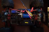 Name: Traxxas Revo Brushless 004.jpg Views: 75 Size: 51.6 KB Description: Motor/esc top view