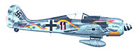 Name: Black 11 Schlangenschwarm.jpg Views: 654 Size: 552.8 KB Description: Black 11, Schlangenschwarm 3./Jgr. 10 Note that the camo on the picture seems to be blueish, but in the final product would be just as grey as all the other schemes.