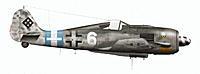 Name: White 6.jpg Views: 487 Size: 259.7 KB Description: White 6, Leutnant Gustl Salffner, 7./JG 300, Spring 1945