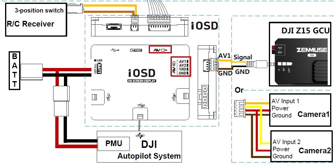 a6265396 226 iOSD Schematic dji iosd mk i, mk ii and mini & 5 8ghz video down link page 51 naza v2 wiring diagram at bakdesigns.co